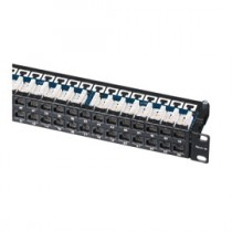 HellermannTyton – Patch Panels, Category 5e & 6 Horizontal, ECOBAND