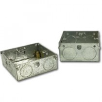 Galvanised Steel Socket Boxes