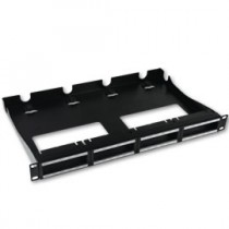HellermannTyton – Patch Panels, RapidNet™ Rear Cable Management Panel (Unloaded)