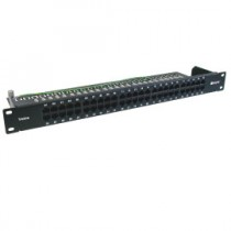 "Assynia – Voice Patch Panels, 19"" High Density, 3-pair"