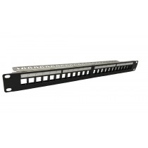 "Assynia Evo – Patch Panels, 19"" 24-Port"