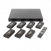 Compact 4K HDBase-T Matrix Kit with HDCP2.2 Support