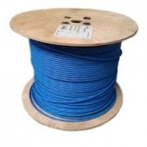 Telegartner Cat 7 Solid S/FTP 4 Pair Cable, Blue, LSZH, 500m Drum