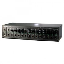 7/15 Slot 19 Media Converter Chassis