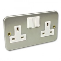 Metal Clad Backboxes, Outlets and Electrical Sockets