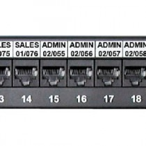 Sharpmark Patch Panel & Outlet Labels - Self Adhesive