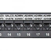 Sharpmark Patch Panel & Outlet Labels - Slide in