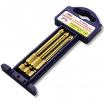 75mm Pozi No.2 Screwdriver Bits (Pack of 3)