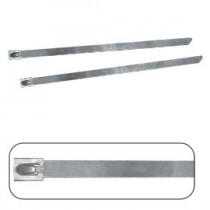 Stainless Steel 'Rollerball' Ties