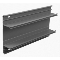 Bendex – Officeline 3-Compartment Perimeter Trunking, Trunking Base