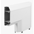 Bendex – Officeline 3-Compartment Perimeter Trunking, Flat Bend